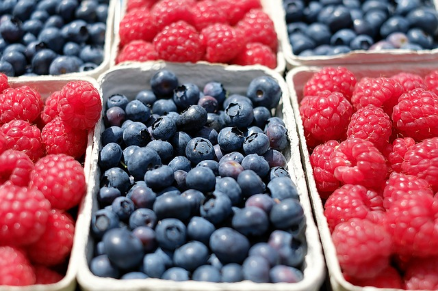 Fruit: Not only is it highly nutritious but packed full of fibre :-)