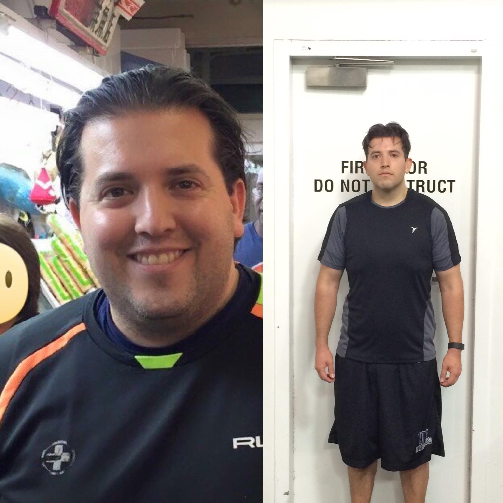 Jake Silzer - 34% Body fat - 22% Body fat