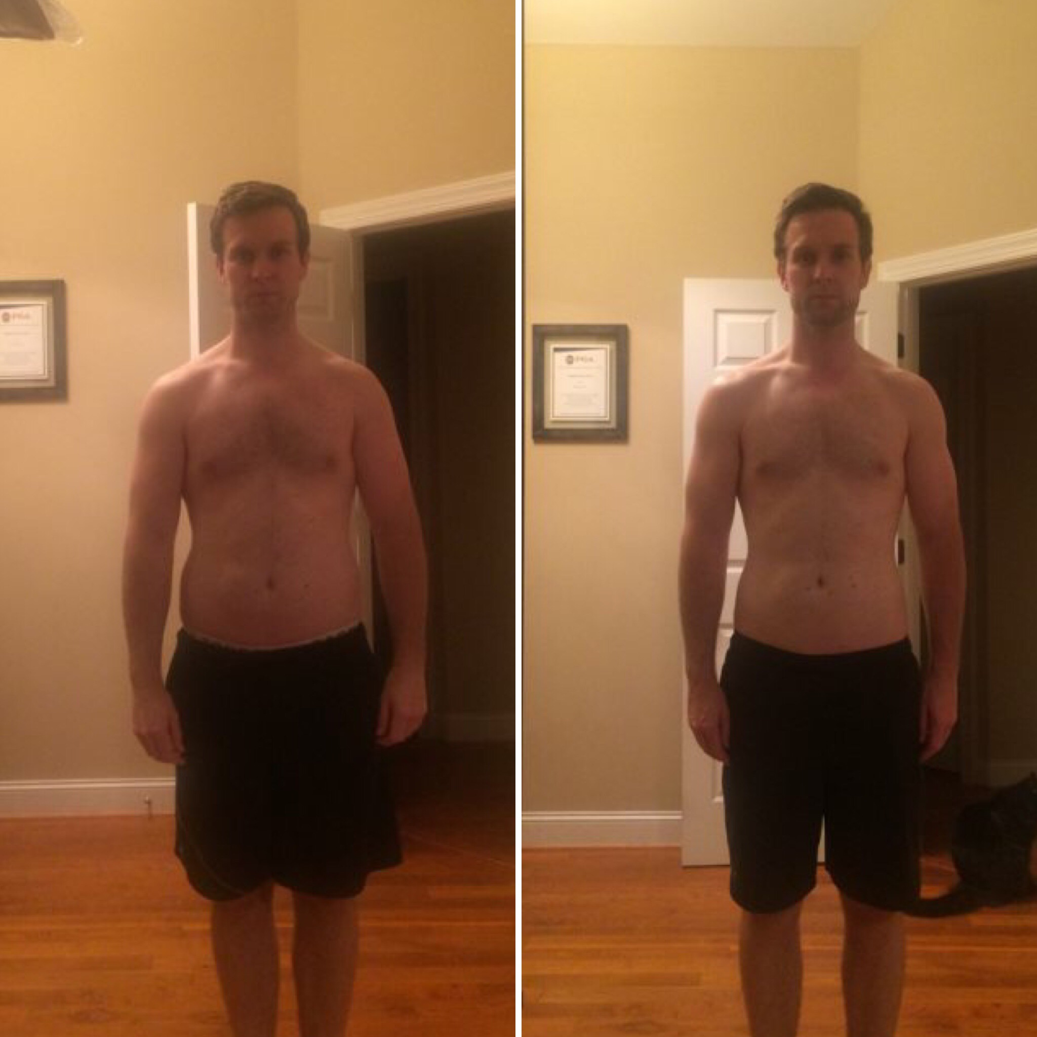 Adam's 8 Week Progress