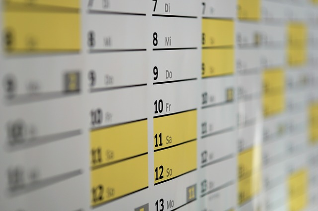 Schedule some downtime into your diary