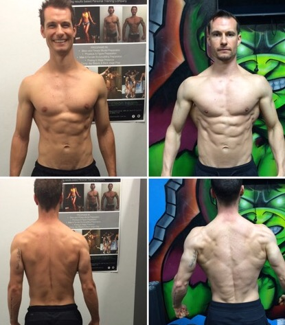 Paul Stevenson - My own transformation from February 2015 to May 2018. During this period I took part in 2 Physique Competitions, competing in the Men's Fitness category.