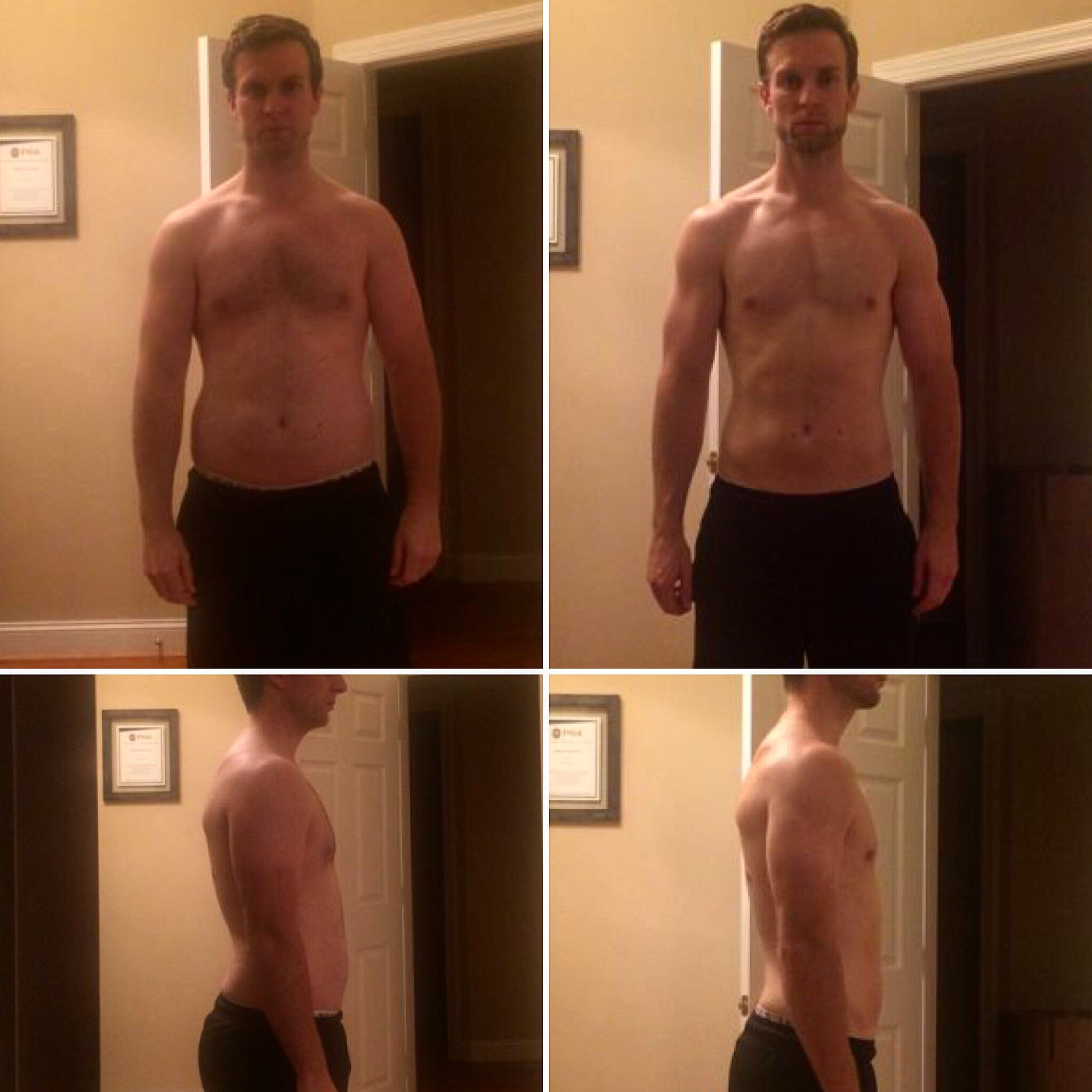 Client Adam used Diet Breaks during his fat loss transformation