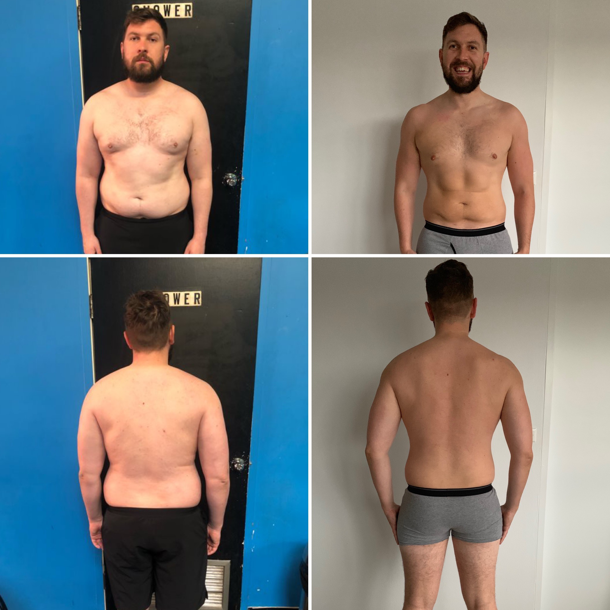 "Oisin Farrell - ""Paul's approach has enabled me to set stretching goals, broken down into short term milestones. Targets included, goal weight, goal BF%, nutrition compliance, training compliance etc. I have a long term goal in sight but the short term targets keep my motivation levels up on a week to week basis.Paul's training plans take into consideration the time and facilities that are available to me while training alone.Nutrition plans are also suited to my preferences and with Paul's new cookbooks there is even more options and variety when it comes to the nutrition. Paul also recognises that there needs to be regular changes in the nutrition plan where additional calories may be added for a set period. This makes the overall plan sustainable long term and not just a quick fix solution.As a follow up to the training and nutrition plans he also checks in with me on a daily basis to see if I am having any issues with either. Paul's proactive approach and interest in my progress further drives my commitment and determination to hitting my goals.Paul's methods have changed how I approach training, nutrition and this enables me to incorporate the plans into my busy work schedule.I look forward to continuing the progress already made with Paul over the coming months and years."""