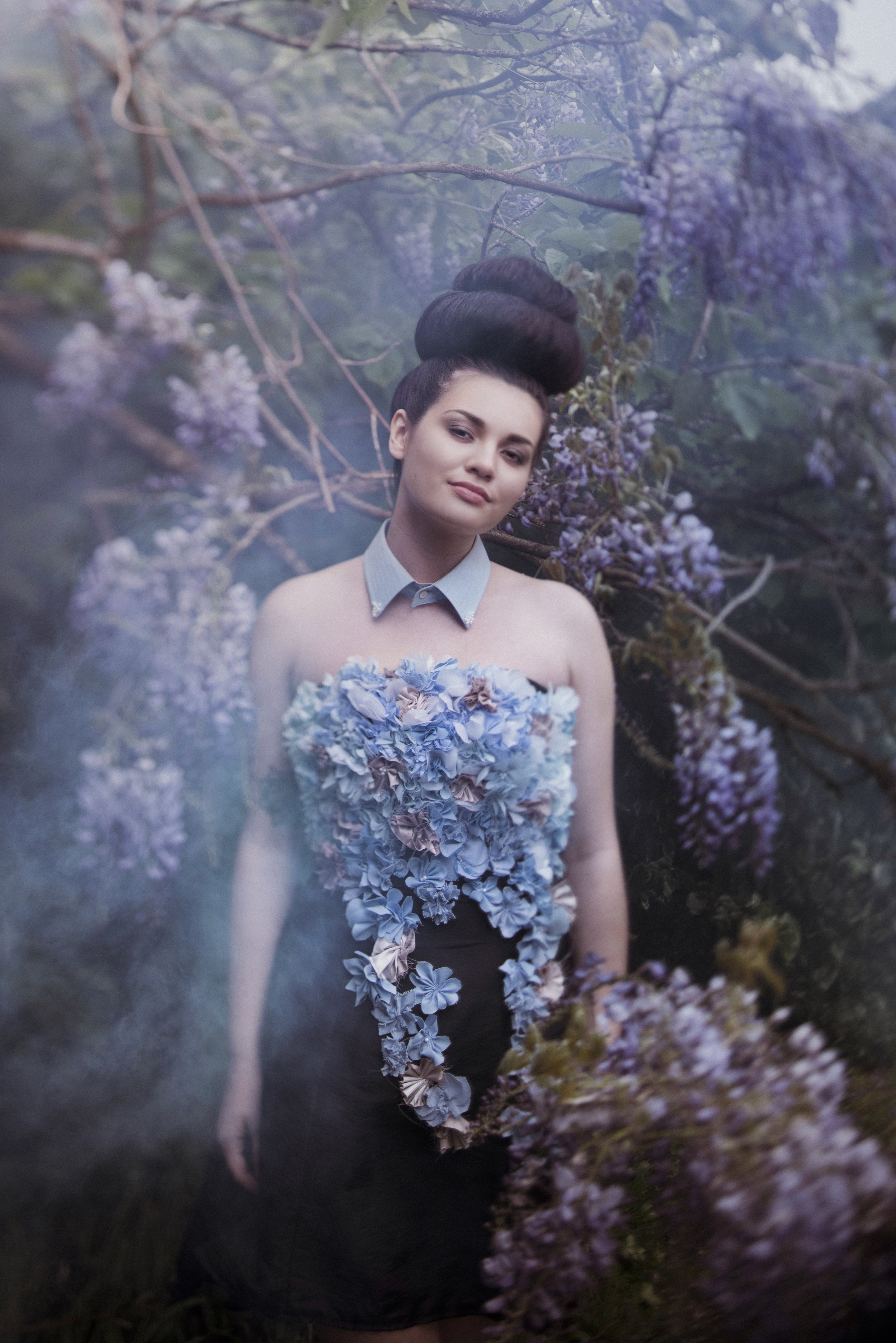Photography: Esther Bunning Photography    De Fleur - 2015 Young Designer Entrant (under 18 years old)  Designer -Orion Scott  Model -Melissa Randell