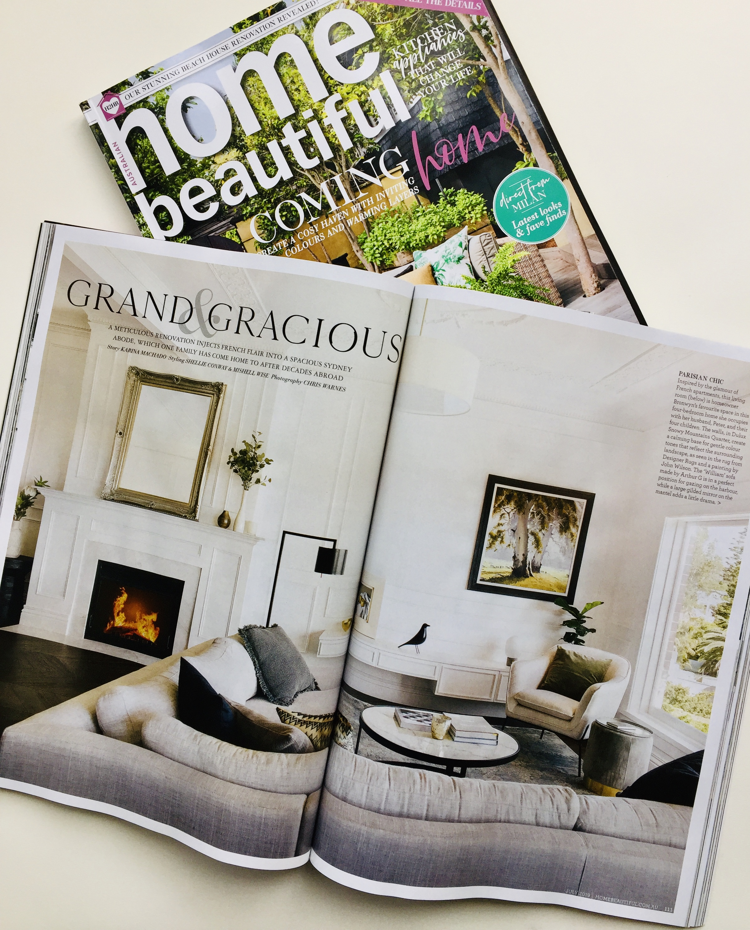 Conway and Wise - Home Beautiful Magazine