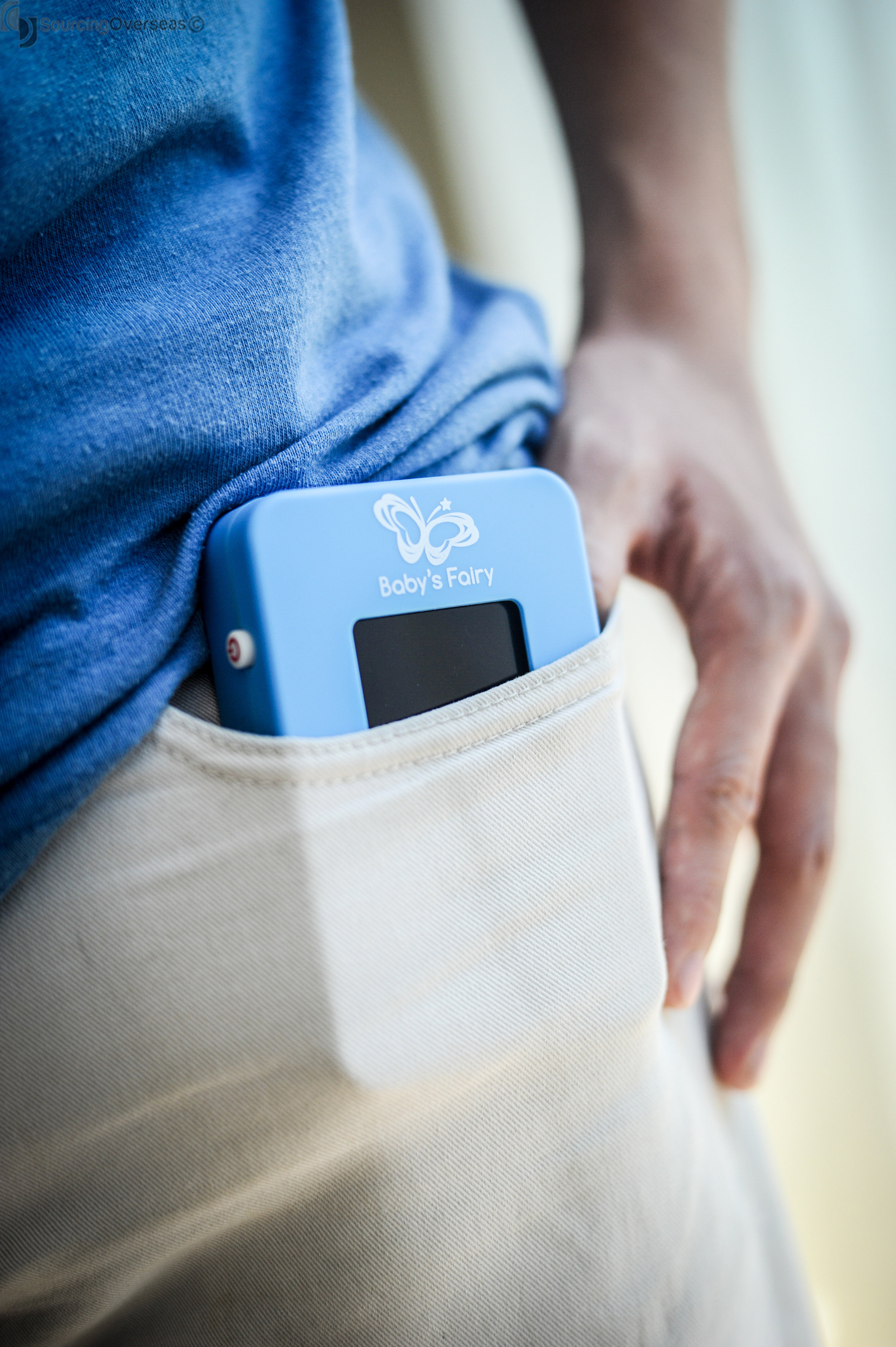 Peace of mind for new parents. A vital signs monitor. - BABY'S FAIRY™