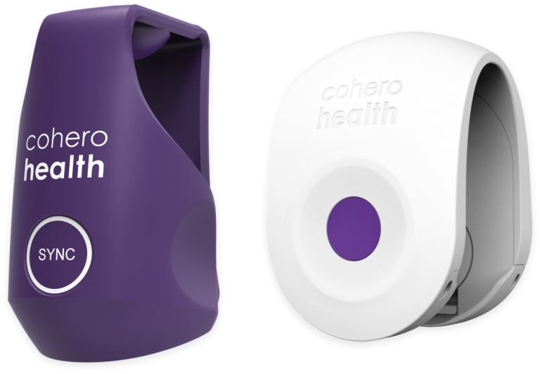 Two leading MDI Inhaler add-ons designed to track medication use - COHERO HEALTH®
