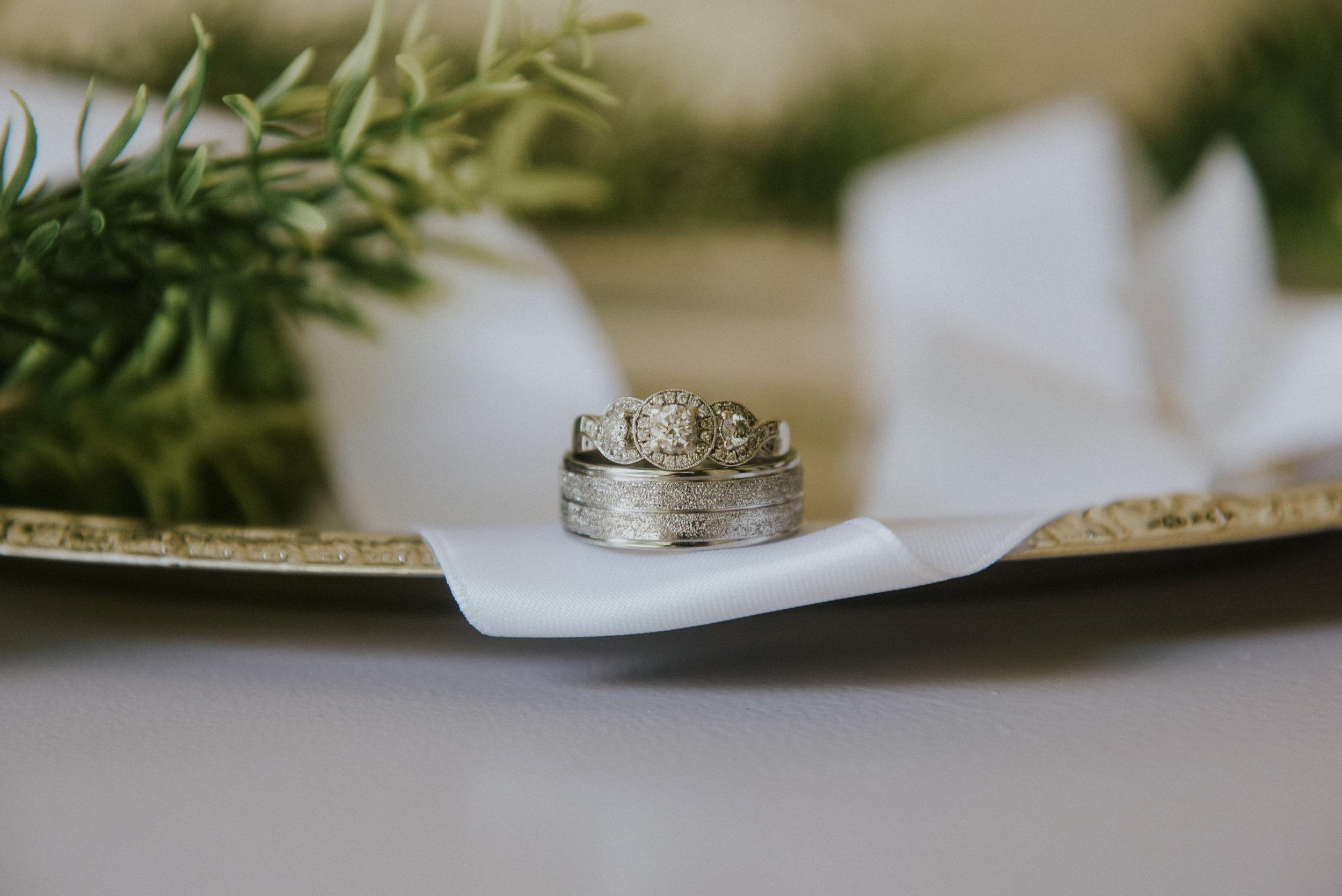 Wedding rings white gold Ontario Canada