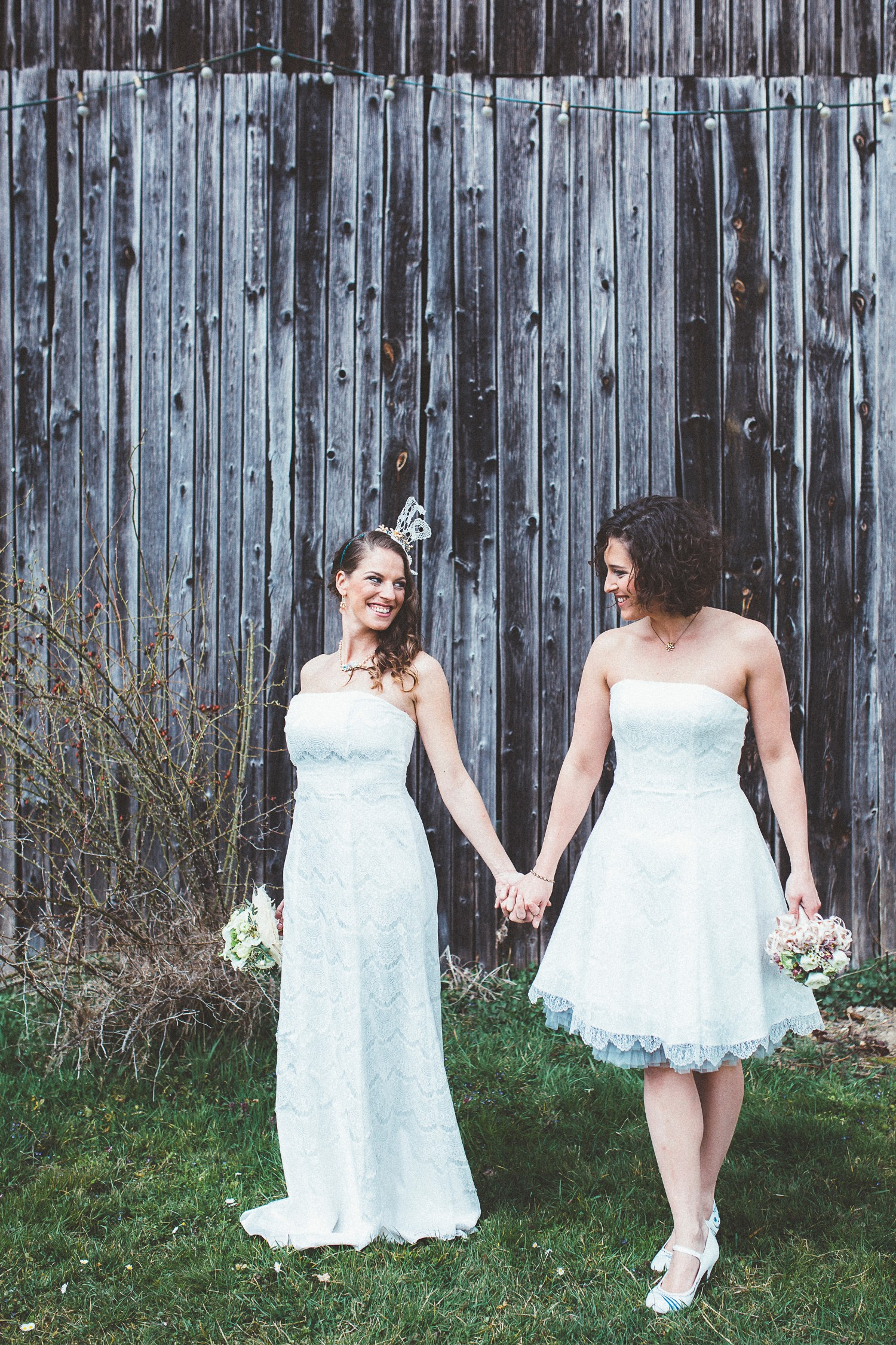 Alice in Wonderland themed same sex wedding styled shoot LGBT Graz Styria Austria
