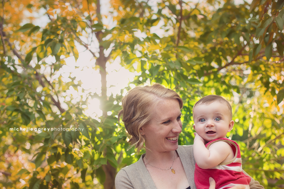Micah's 6 Month Session :: Littleton Birth Photographer
