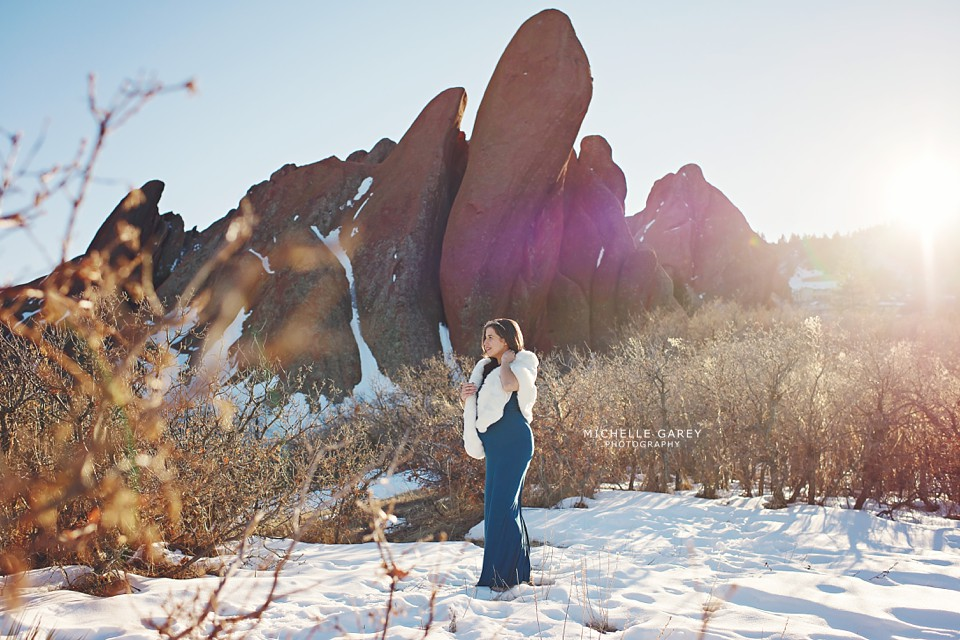 Nikki's Baby Bump :: Denver Pregnancy Photographer