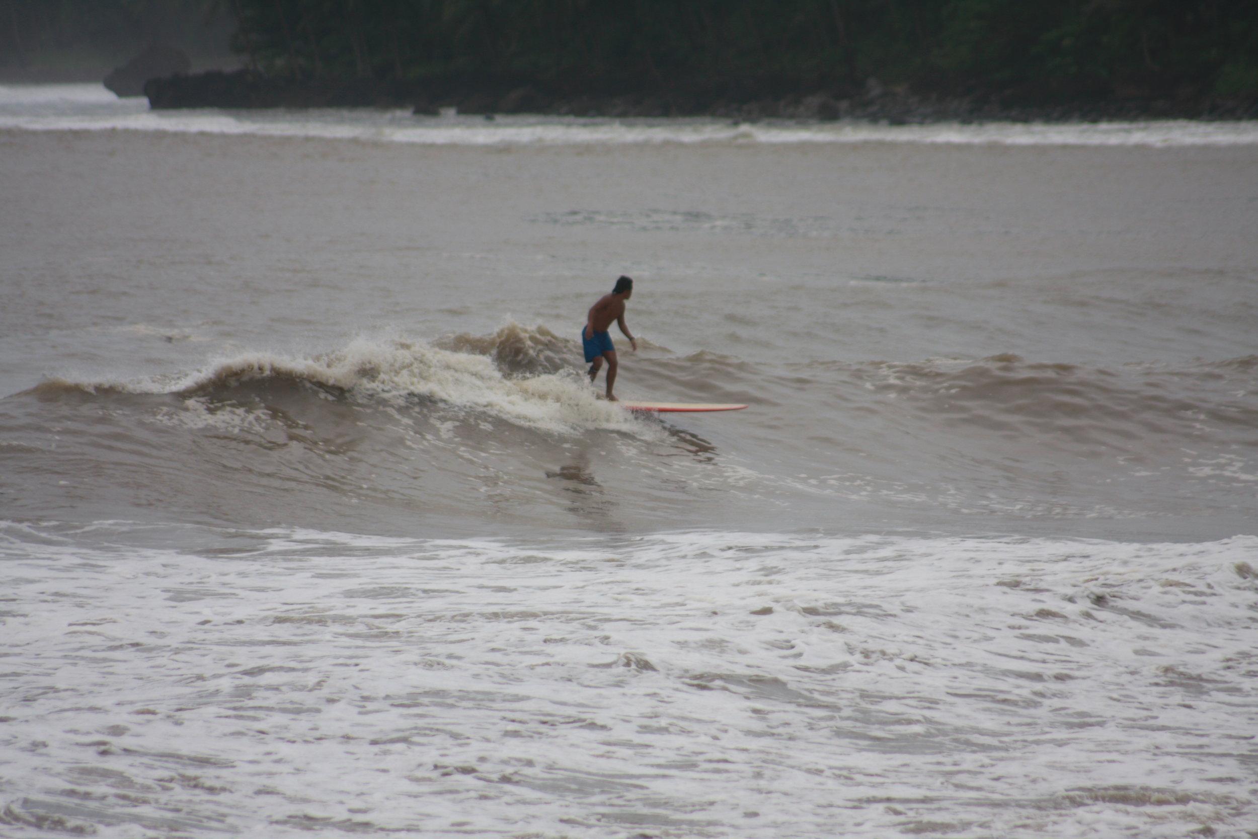 Alex Solitaria on a much friendlier wave.