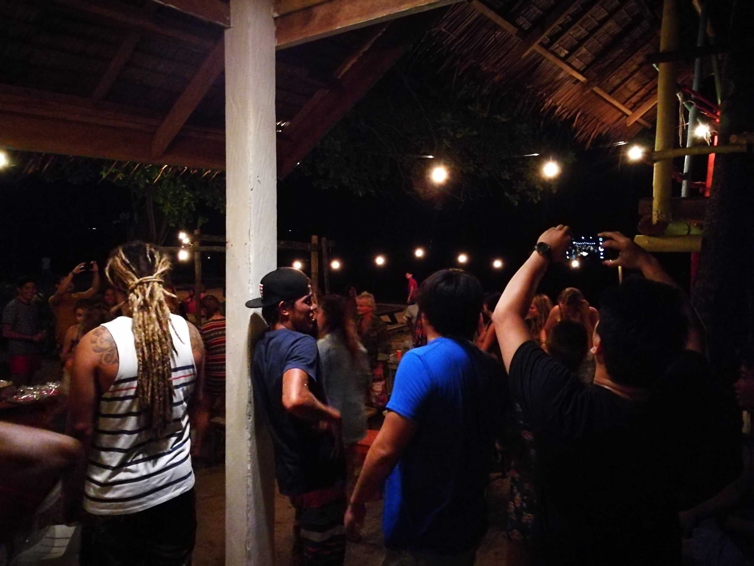 This wasn't even the party proper - this was still dinner! Can't wait for the next event at the Surf Shack!