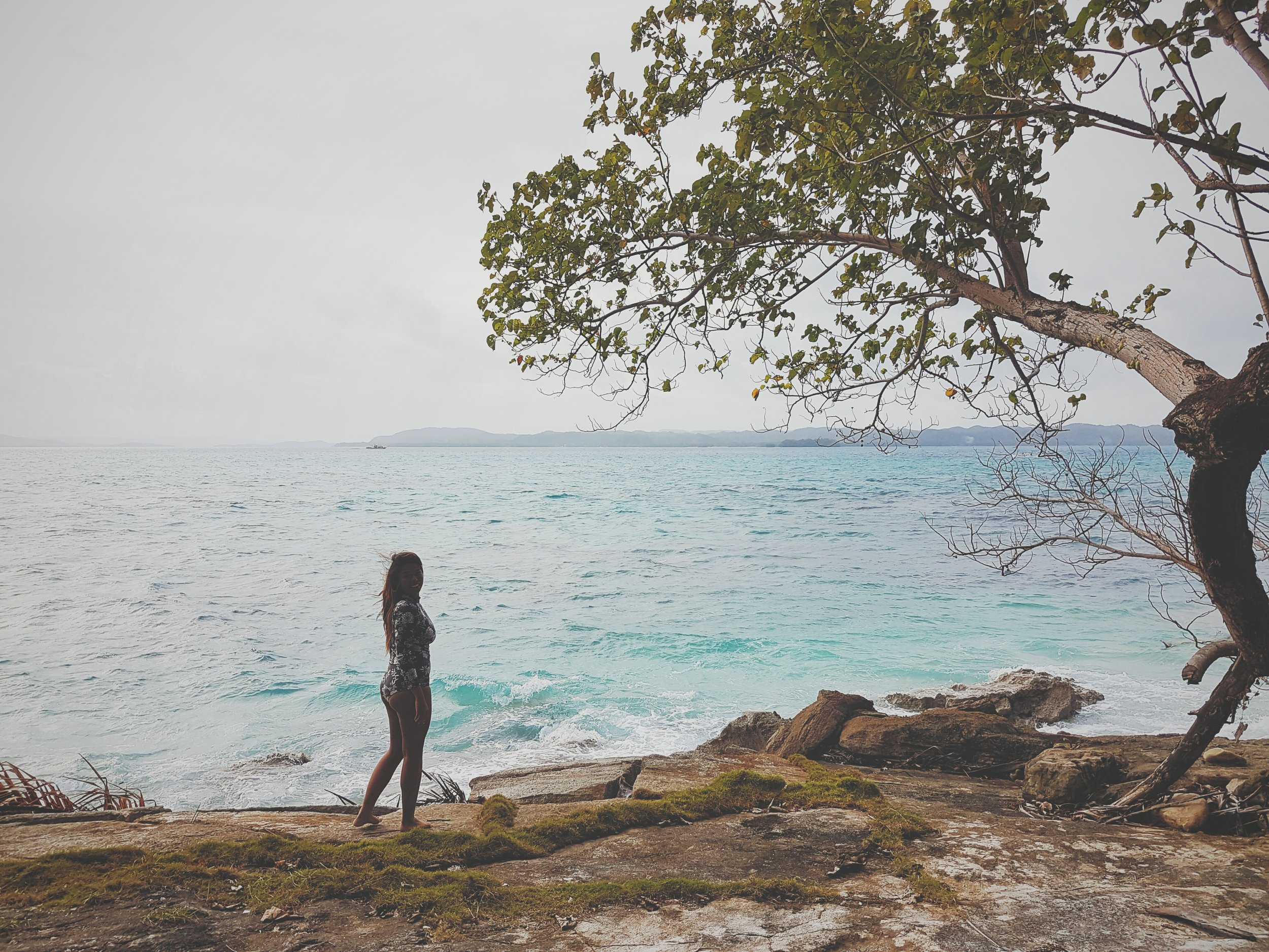 The cover art was inspired by this photo of me in Daku Island, Siargao Islands last February. I'm in love with the place. See how the sea fits this perfect? Pure love. Photo by Wayne Warren.