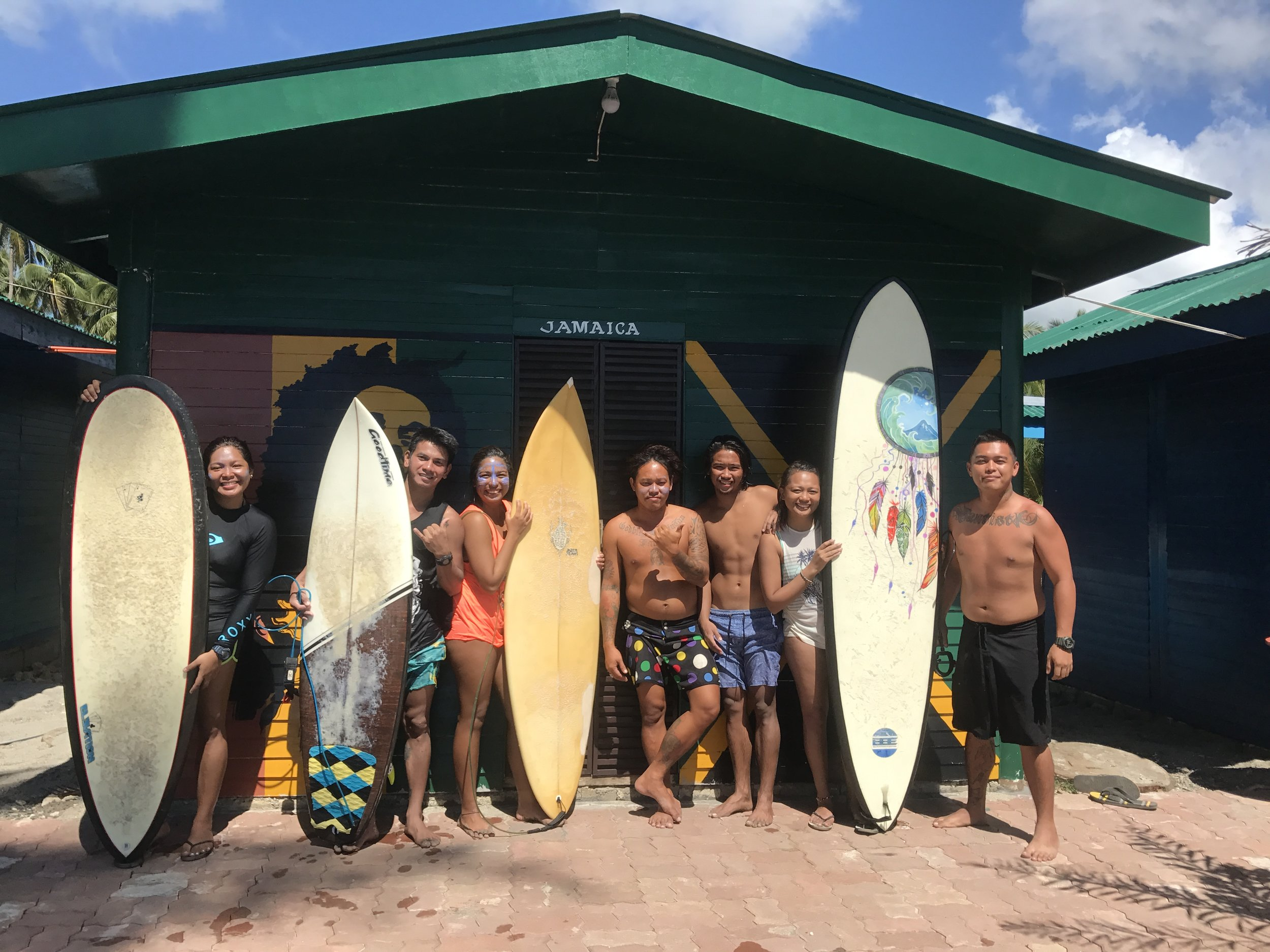 Dahicabebes and Lianga Surfers