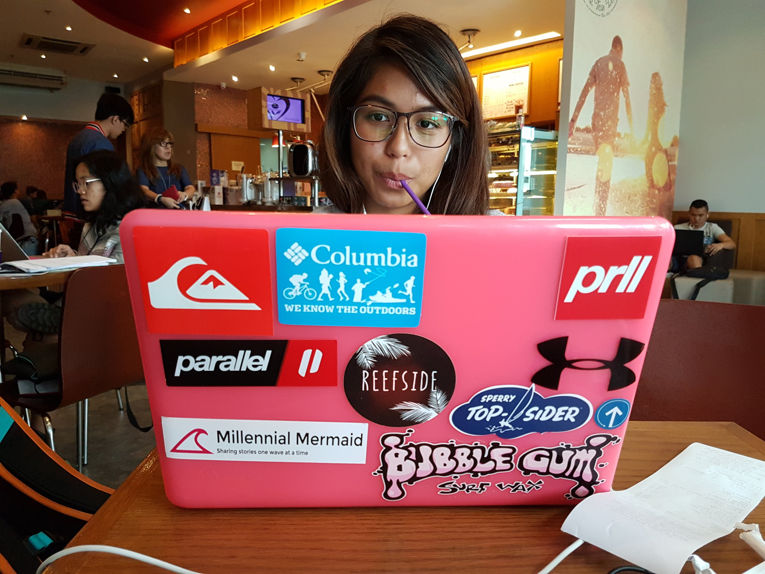 Hitting the third month mark of being a digital nomad writer (if there's such a thing). Transitioning was hard so I had to work in coffee shops like Coffee Bean and Tea Leaf just to be able to concentrate working on my own.