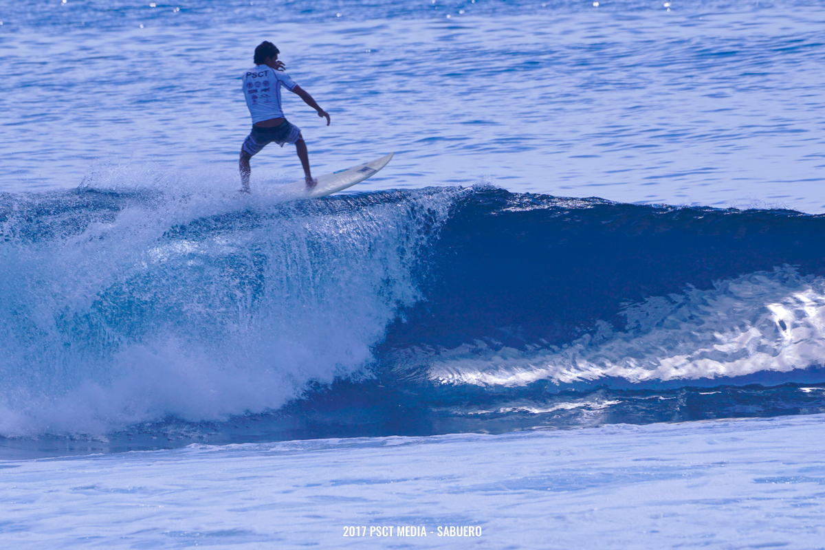 """The only remaining representative from the Davao region to make it to Round 4, Sonnyboy """"Bayogyog"""" Aporbo, lands a massive floater on his frontside during the last few minutes that made the crowd go wild. Photo by Gaps Sabuero"""
