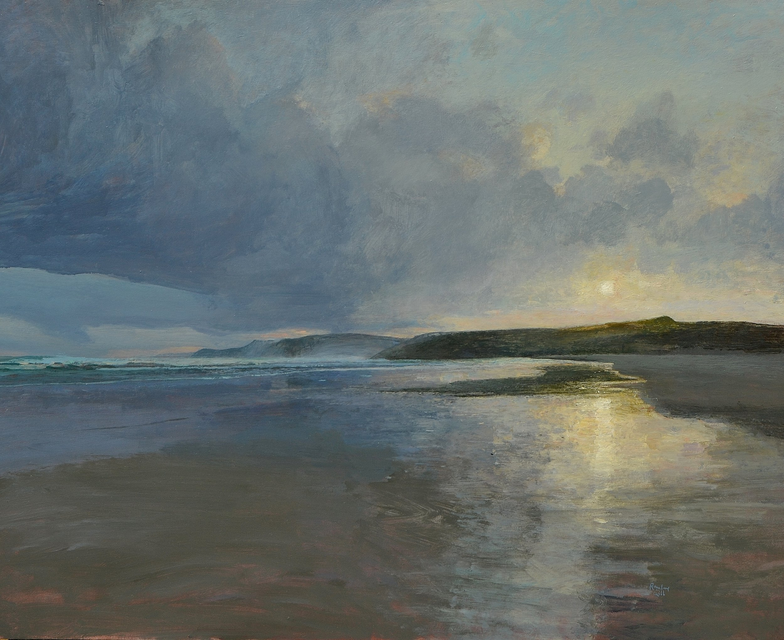 Ramsay Gibb Seascapes at Moncrieff- Bray Gallery