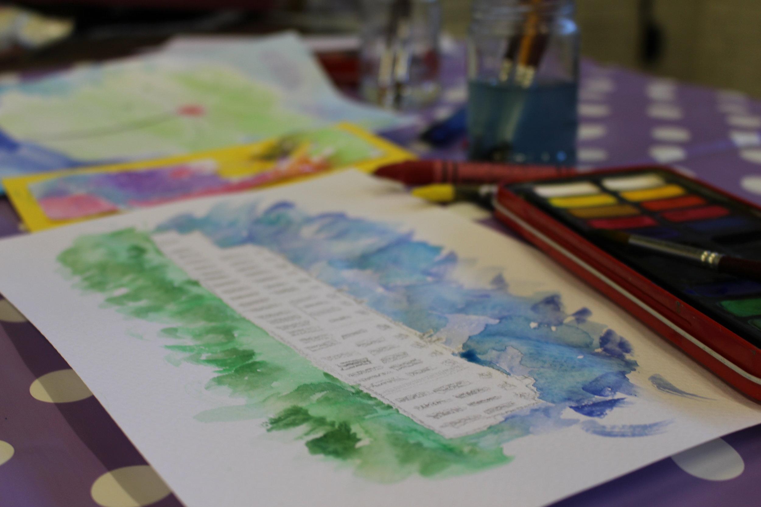 Wax & Watercolours