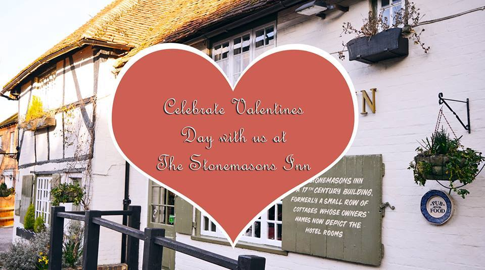 Valentines Day at The Stonemasons Inn