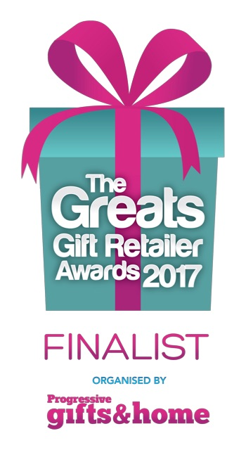 Red Card is a Greats Gift Retailer Finalist 2017!