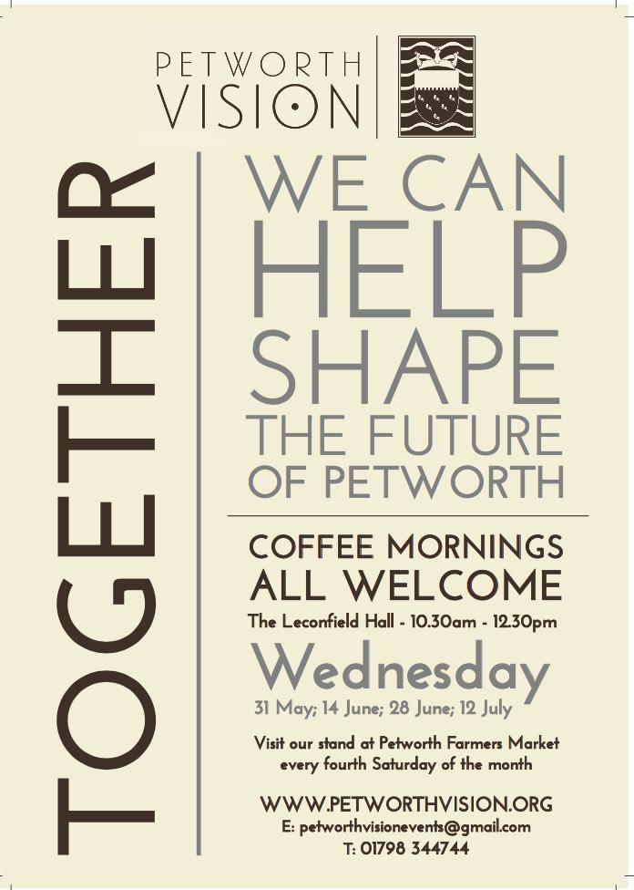 Petworth Vision - Coffee Morning