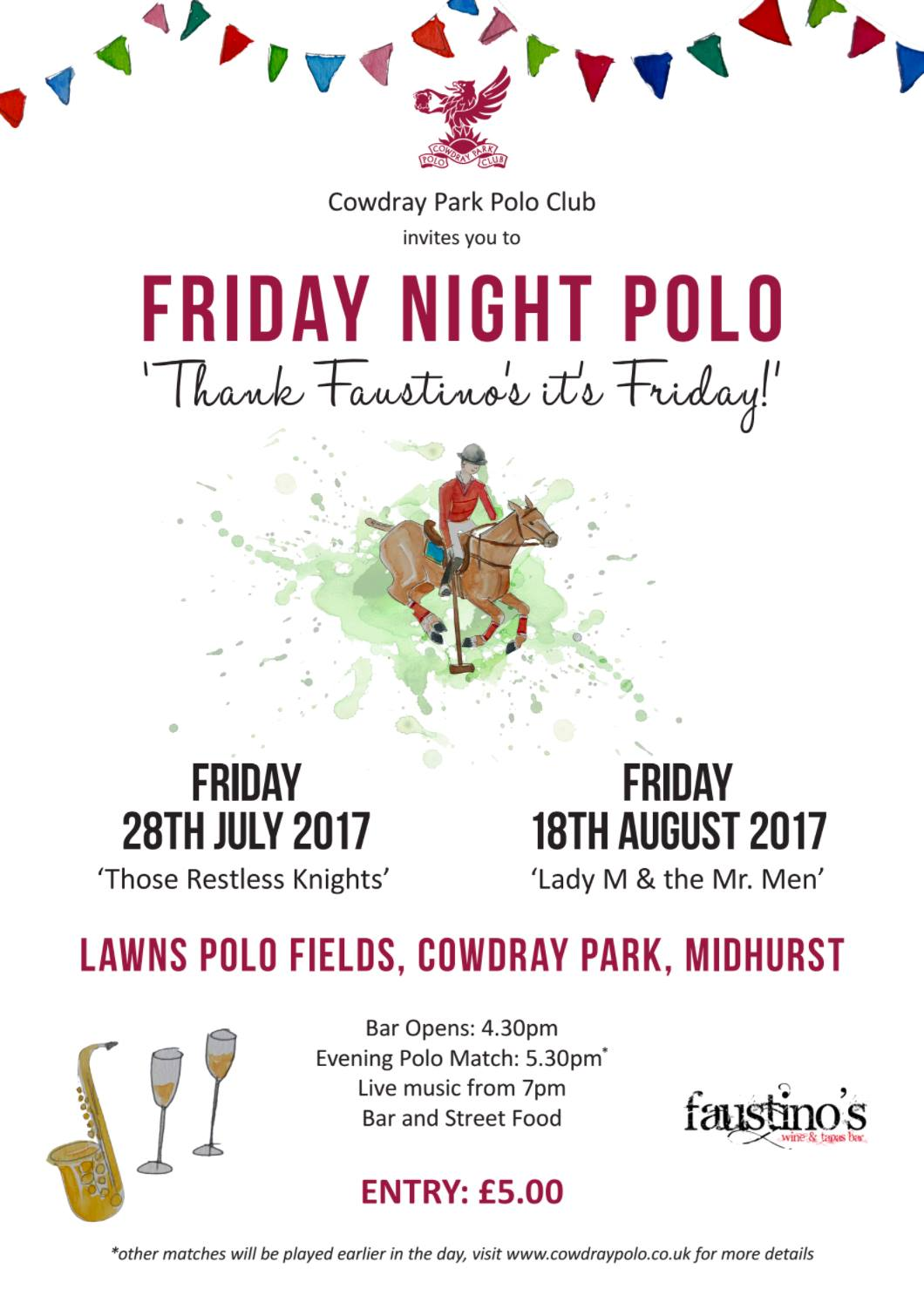Friday Night Polo - 'Those Restless Knights'