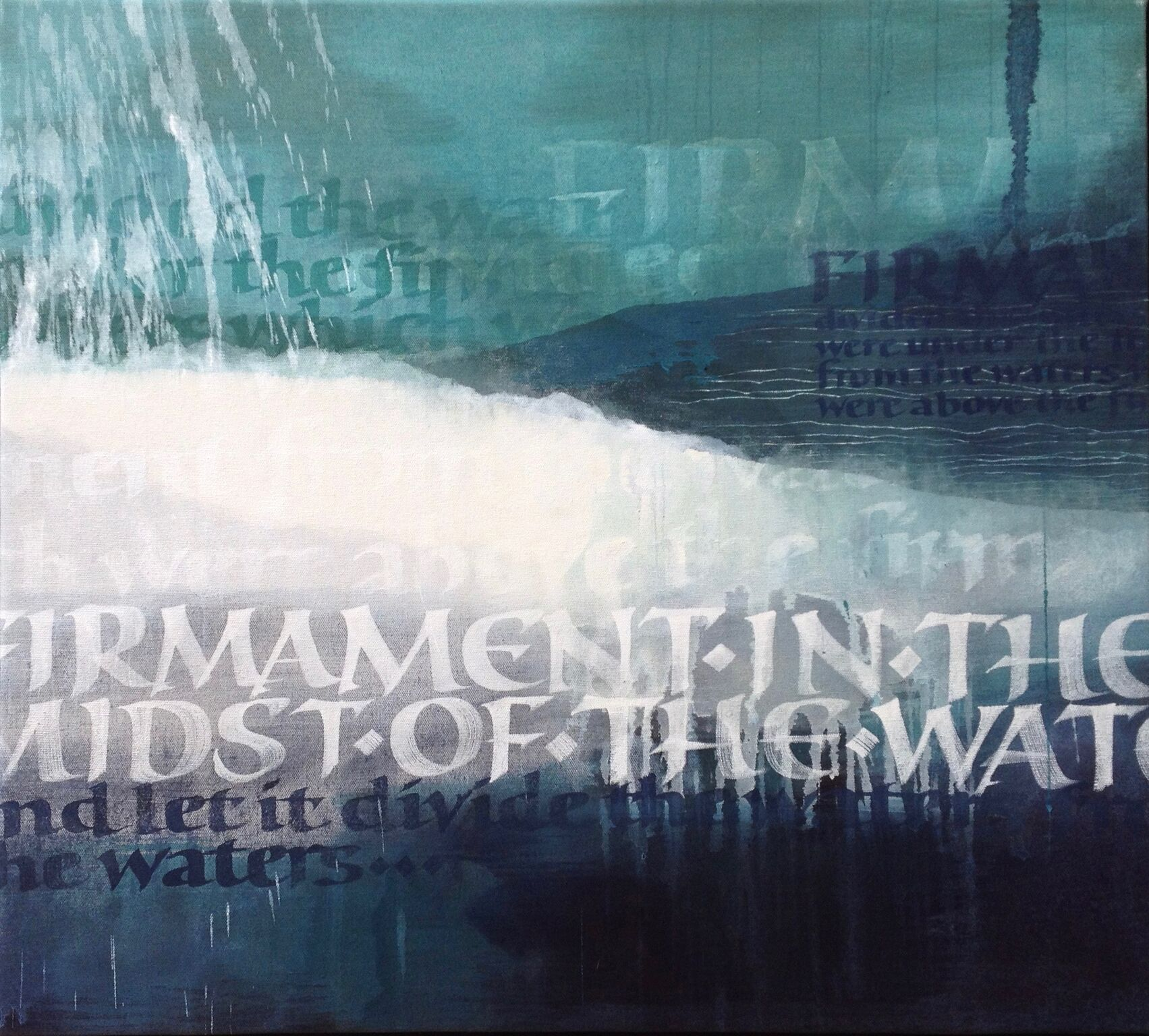 Susie Leiper Let there be a firmanent oil on canvas 70 x 75 cm .jpg