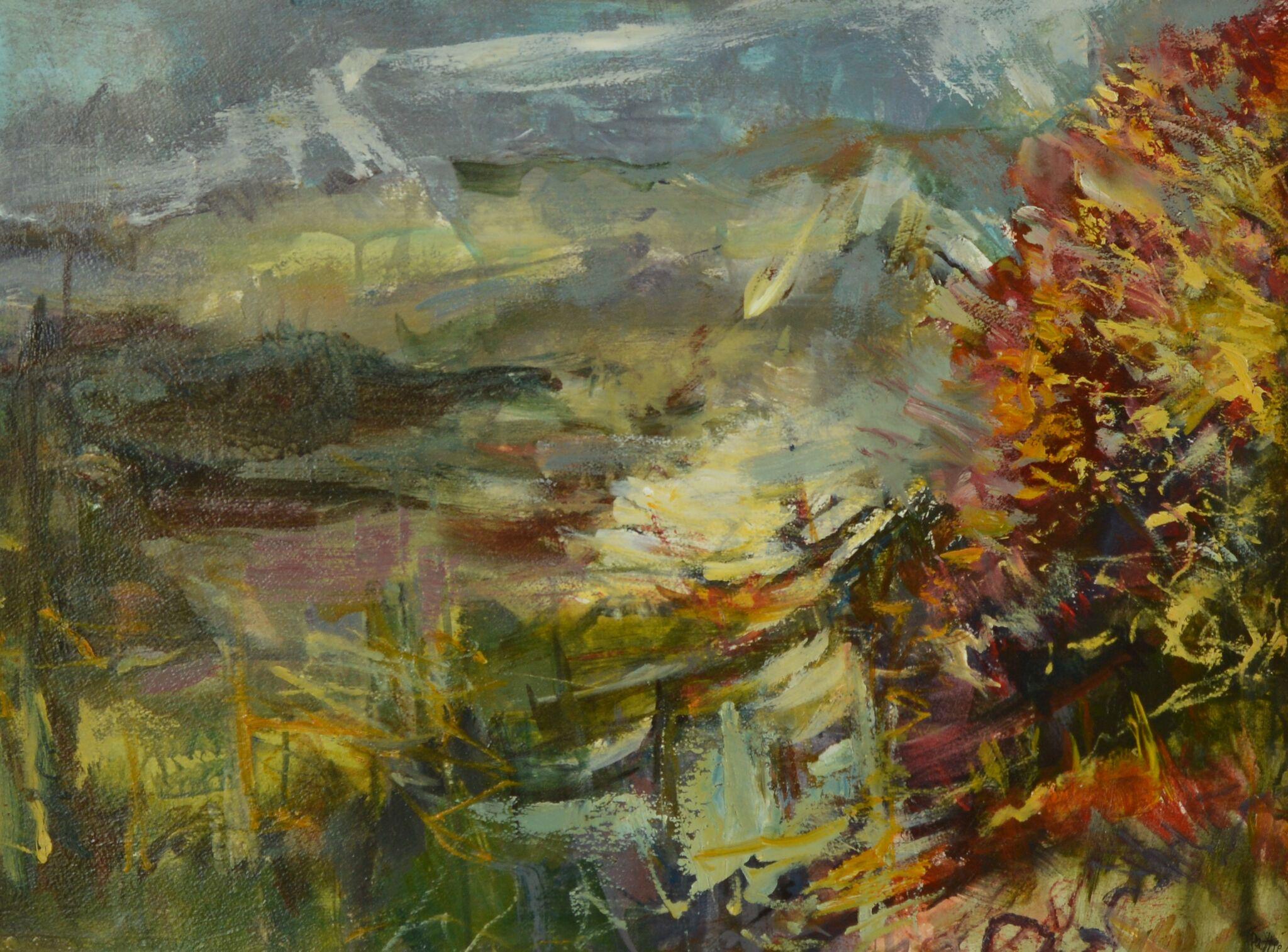 Tuema Pattie The Downs from Duncton Hill Autumn.jpeg