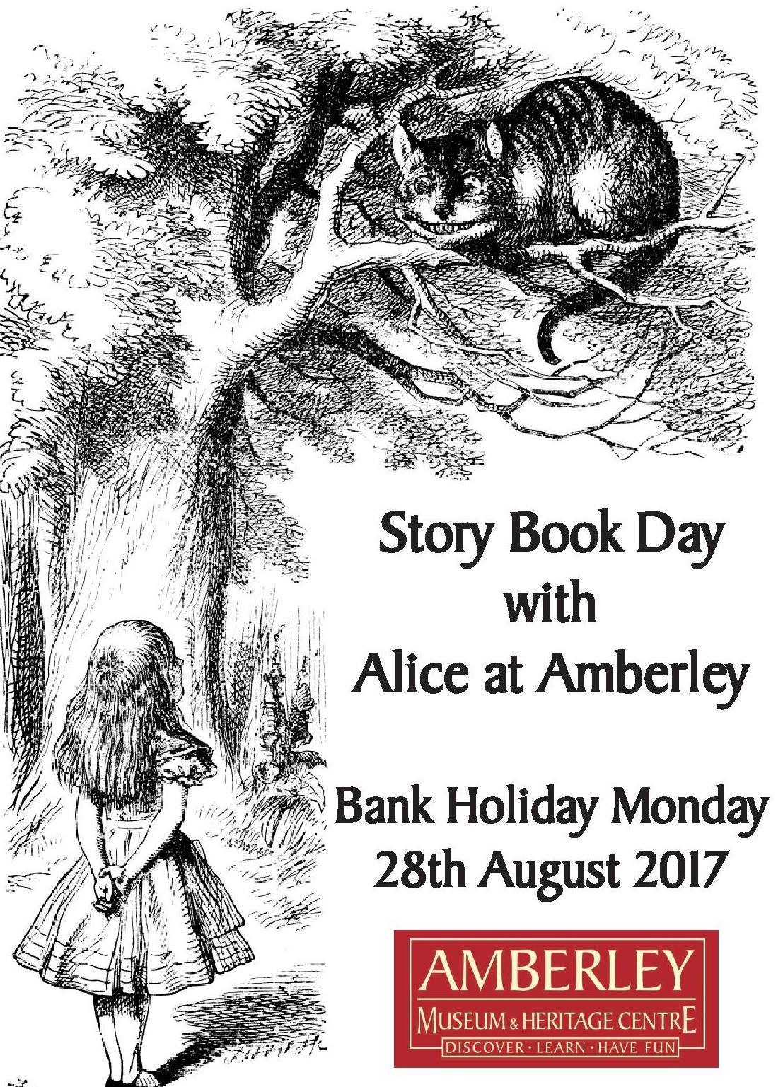 Story Book Day with Alice at Amberley