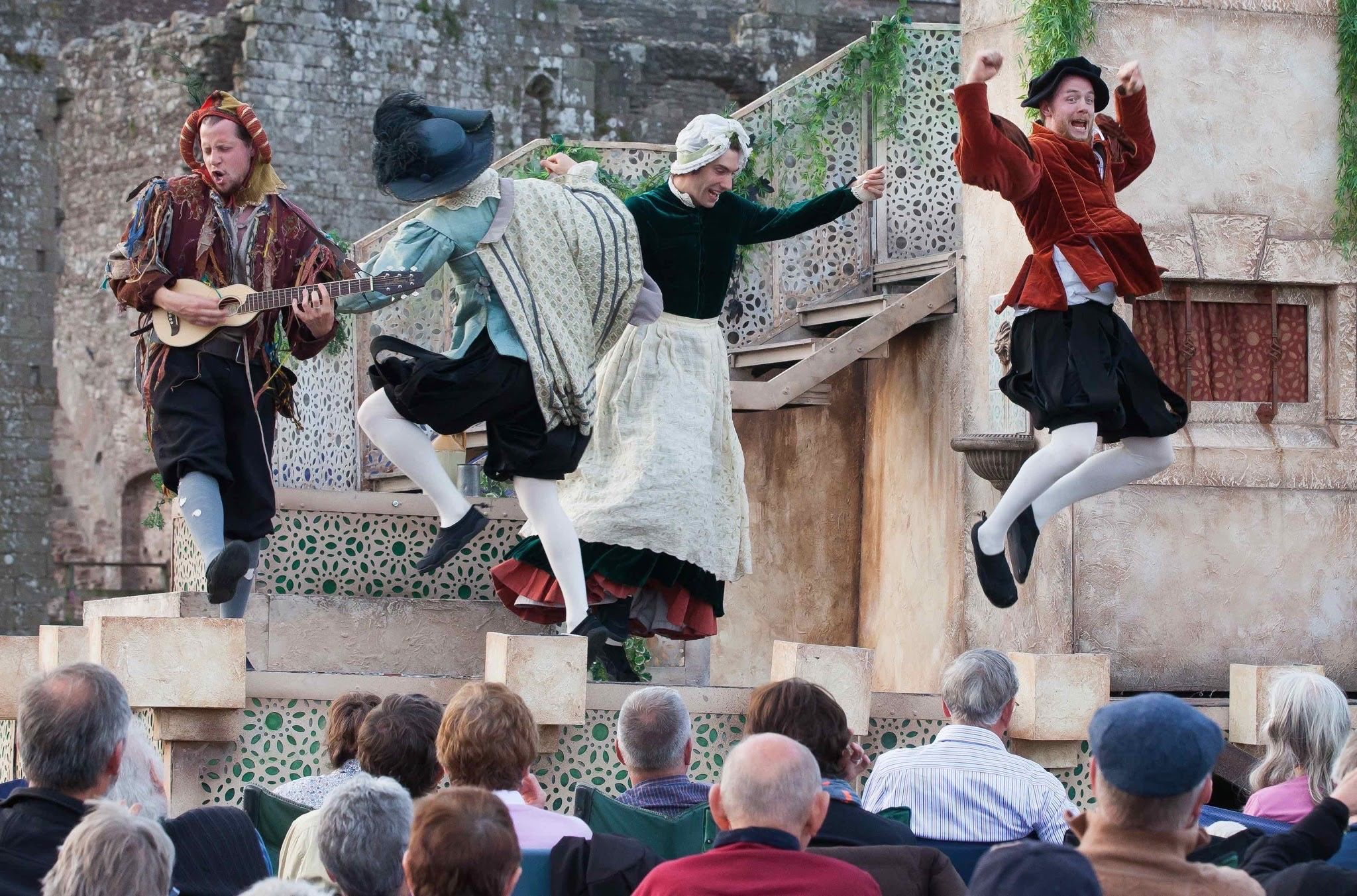 Open Air Theatre at Parham. The Comedy of Errors