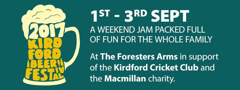 Kirdford Beer Festival at The Foresters Arms