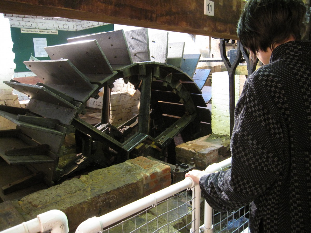 Coultershaw Beam Pump - Heritage Open Day