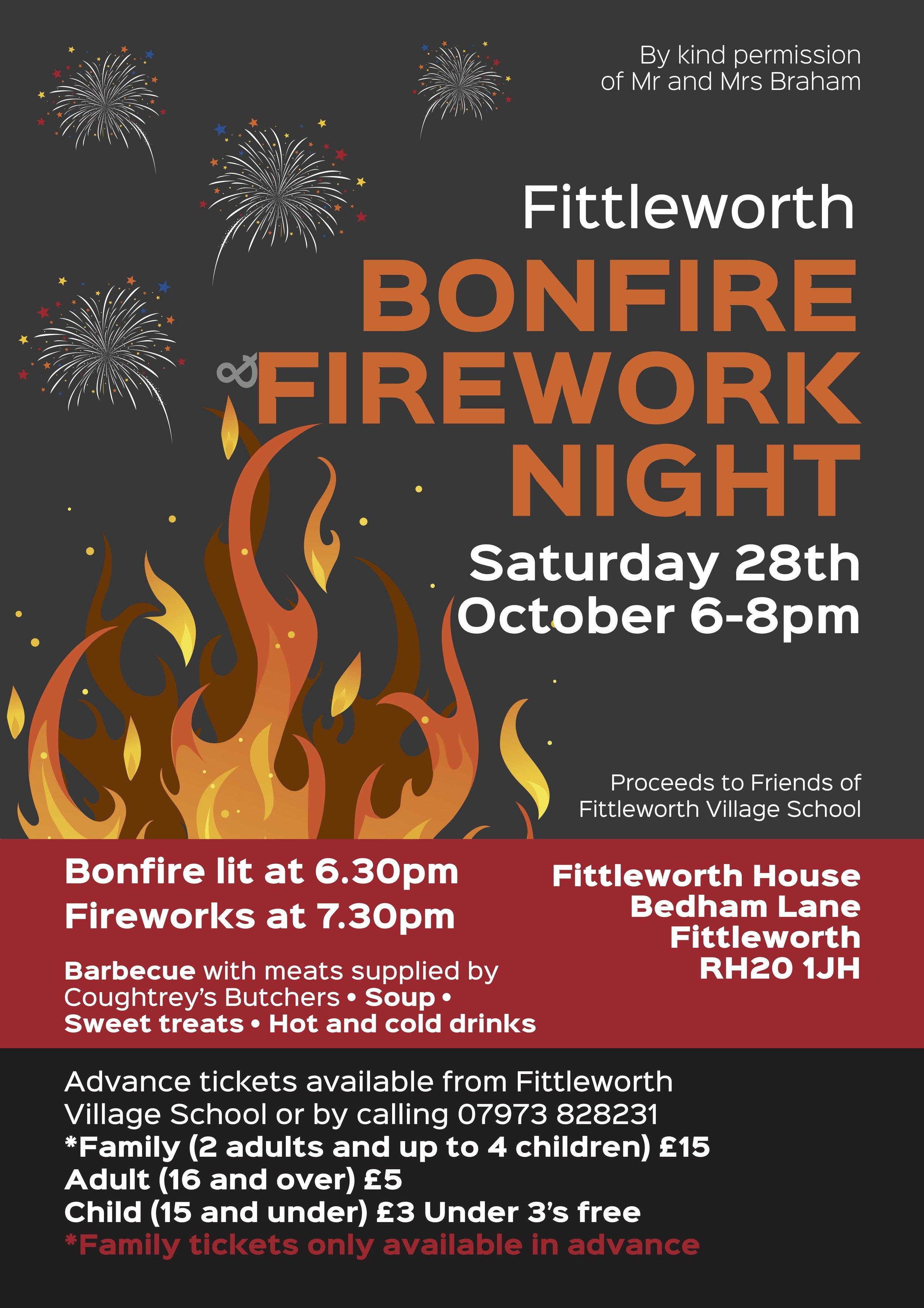 Fittleworth Bonfire Fireworks Night
