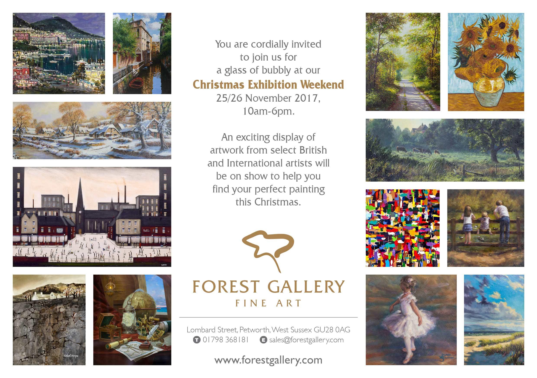 Christmas Exhibition Weekend