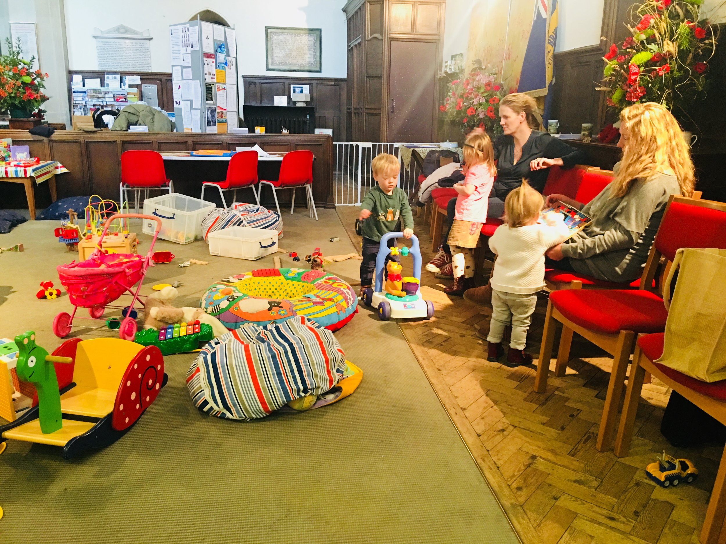 Parents and Toddlers at St Mary's Church