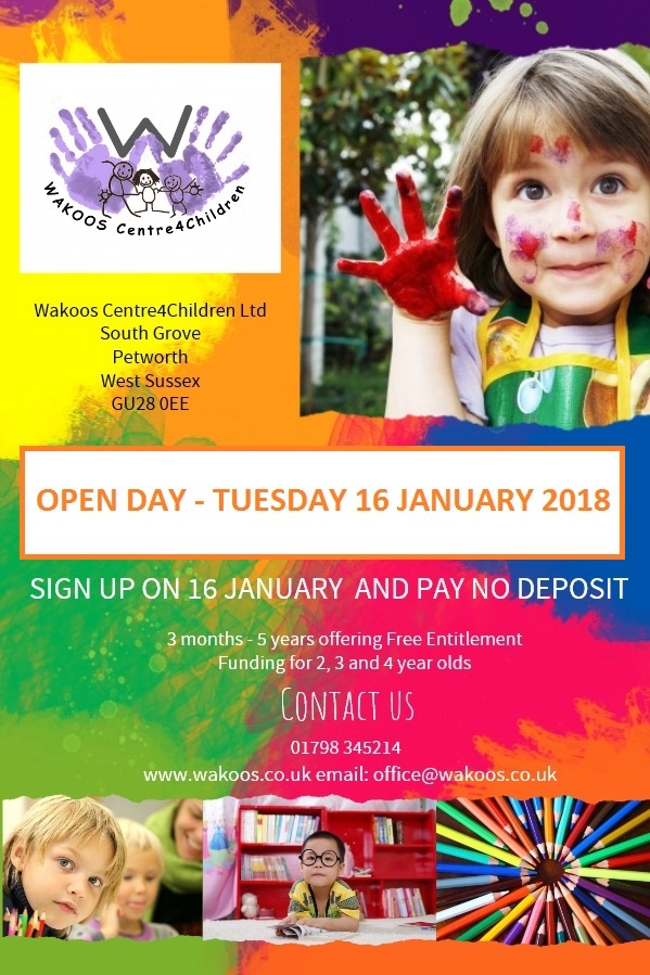 Open Day at Wakoos