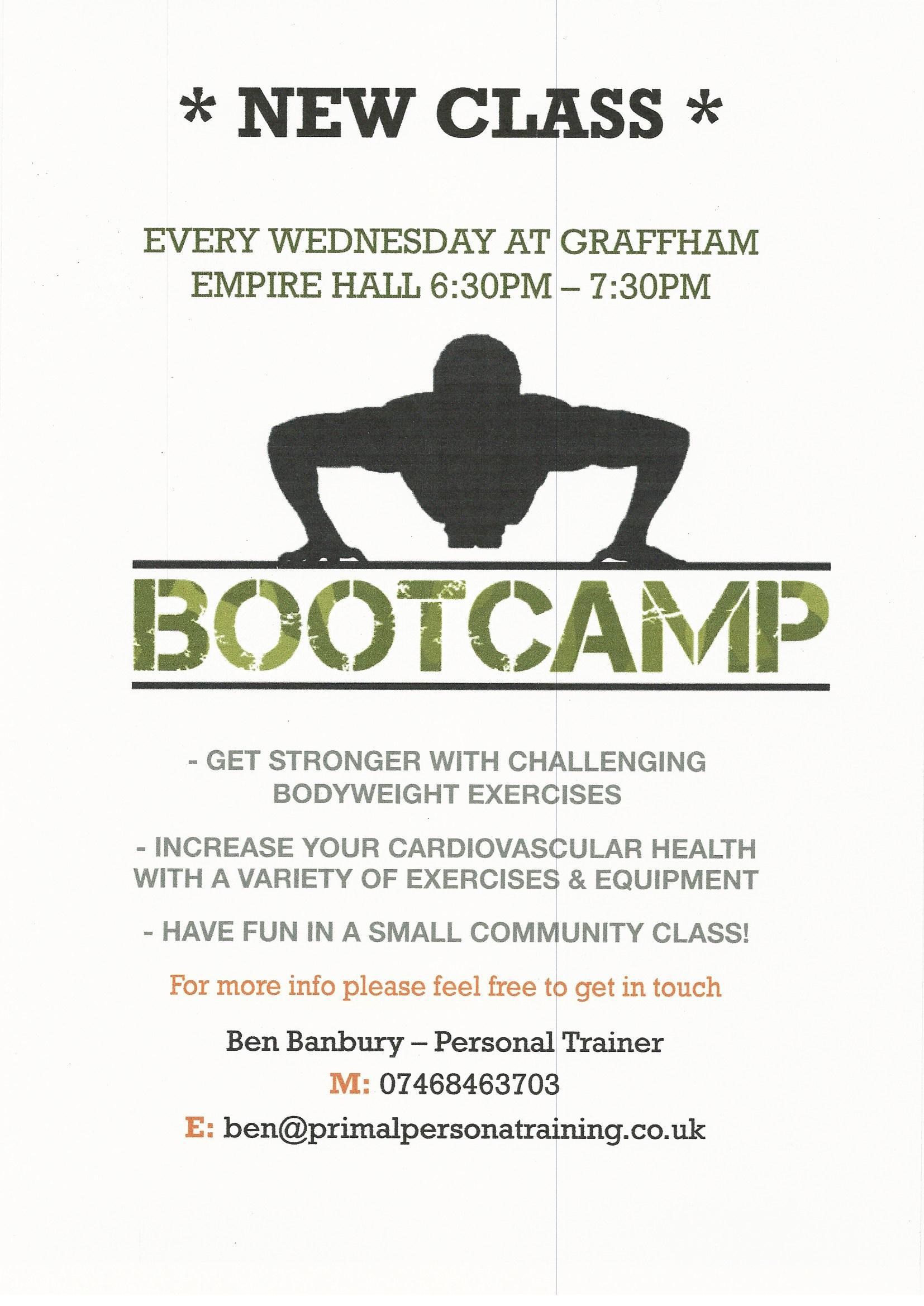 Bootcamp in Graffham