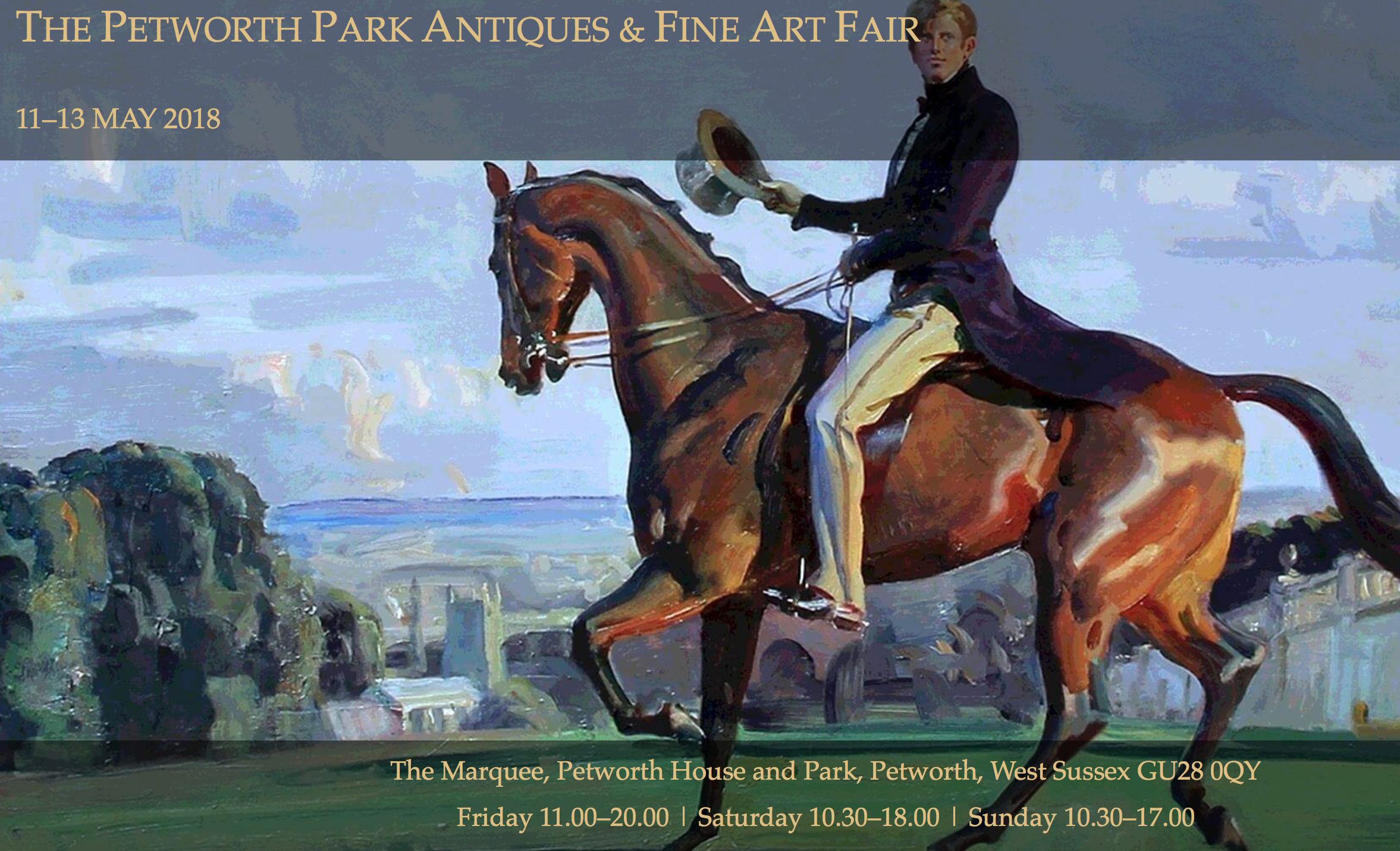 Petworth Park Antiques & Fine Arts Fair