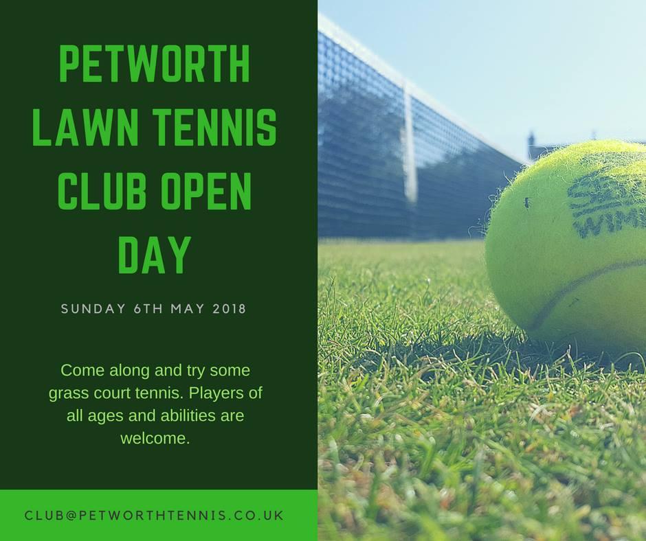 Open Day - Petworth Lawn Tennis Club