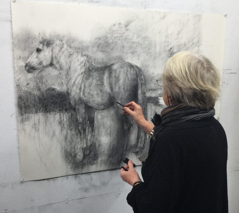 Charcoal Drawing with Bridget Macdonald