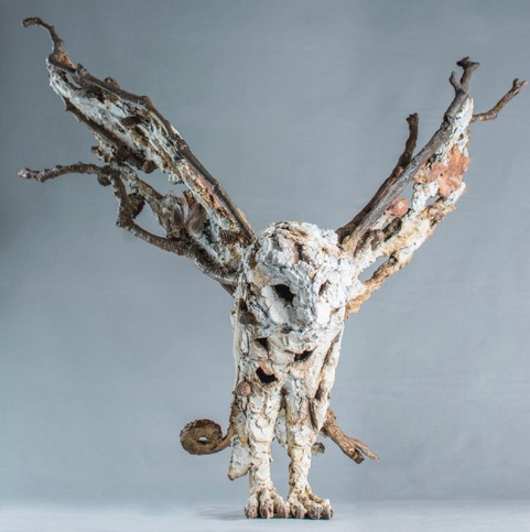 Olivia Ferrier, Owl Swoop, bronze, edition of 16, 185 x 26 cm  £5,250 copy 3.jpeg
