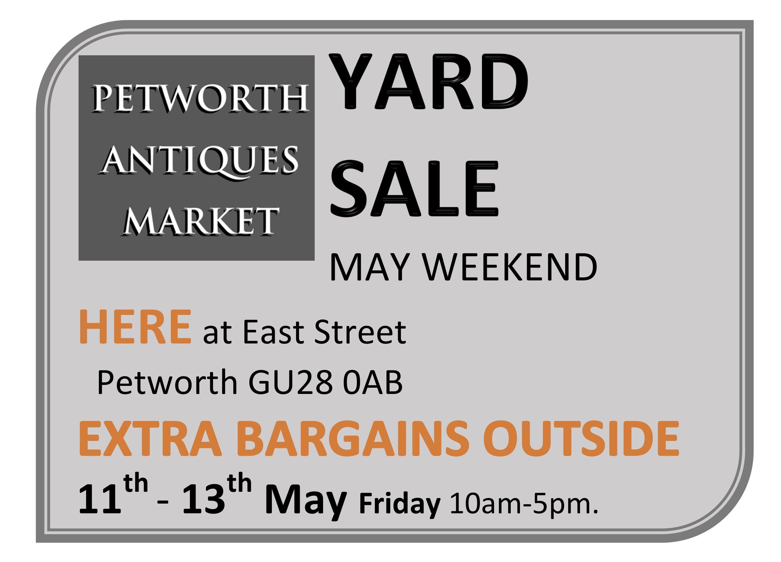 Yard Sale at Petworth Antiques Market
