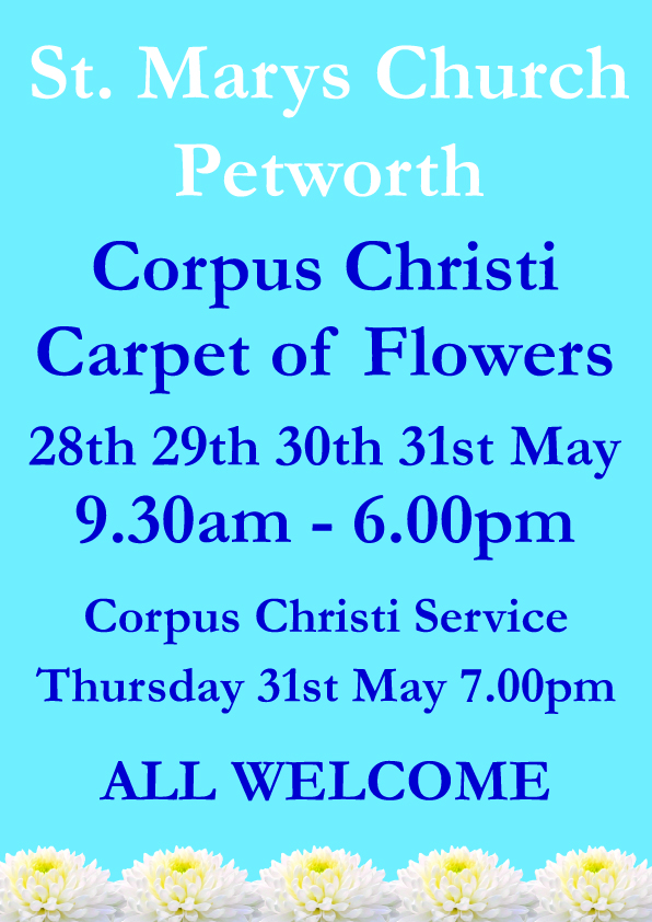 Corpus Christi Carpet of Flowers