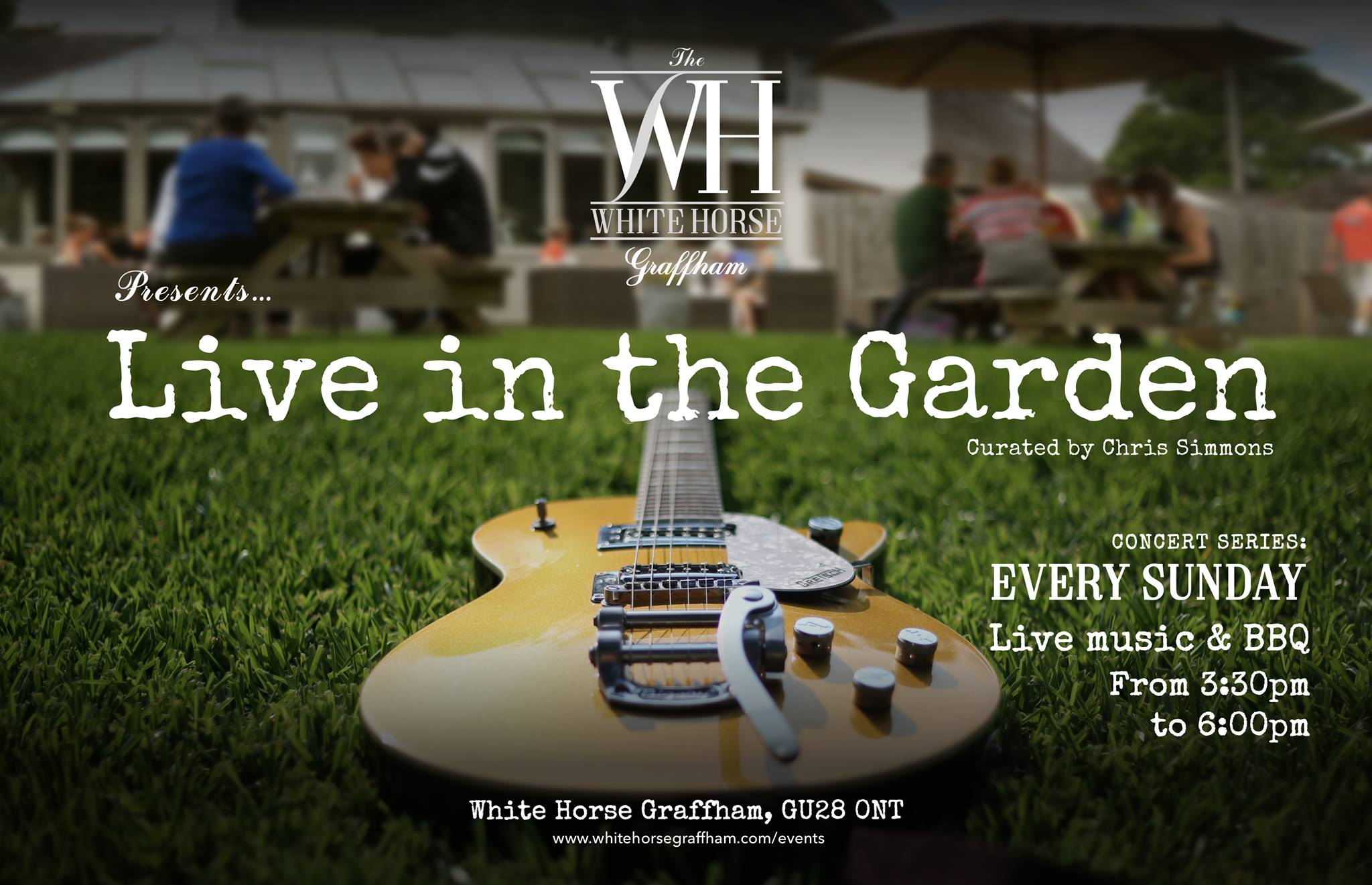 Concert Series: Live in the Garden at the White Horse Graffham
