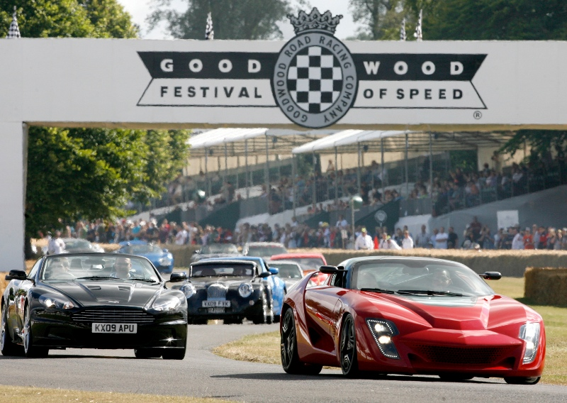 Festival of Speed Breakfast at The Badgers