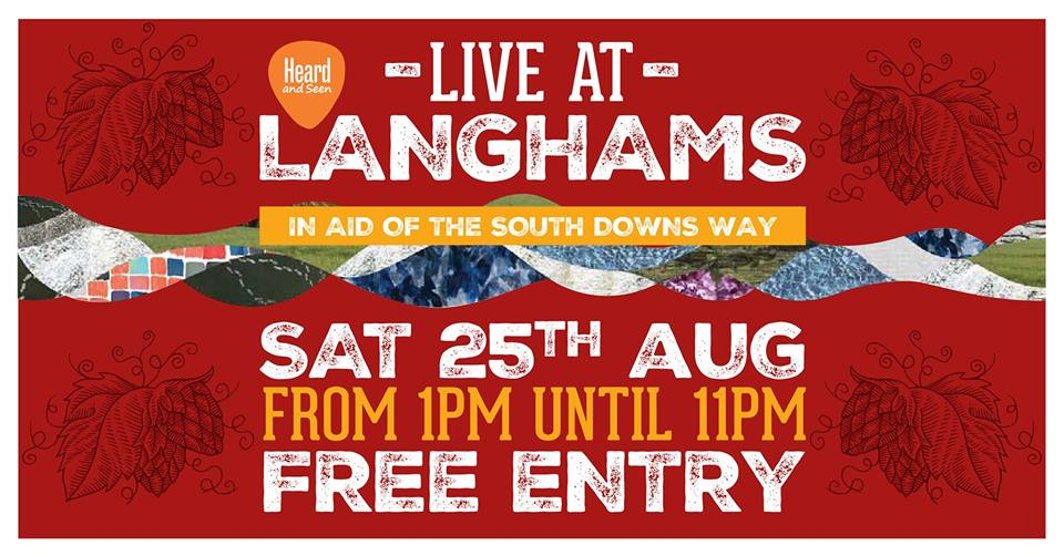 Live At Langhams - Bank Holiday Music & Beer Festival