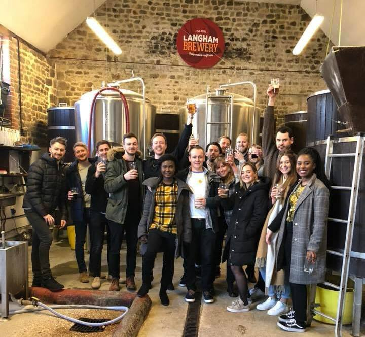 Brewery Tour at Langhams