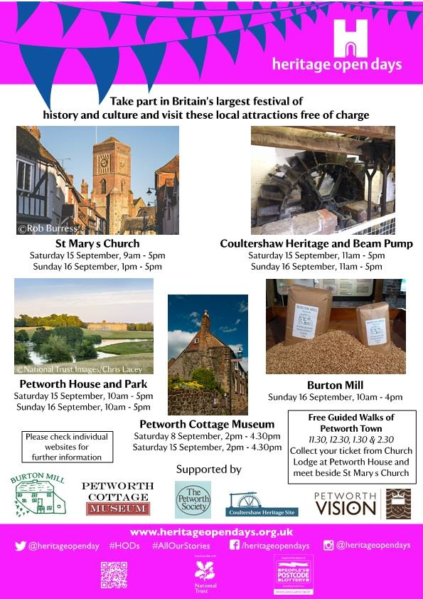 Heritage Open Days in Petworth