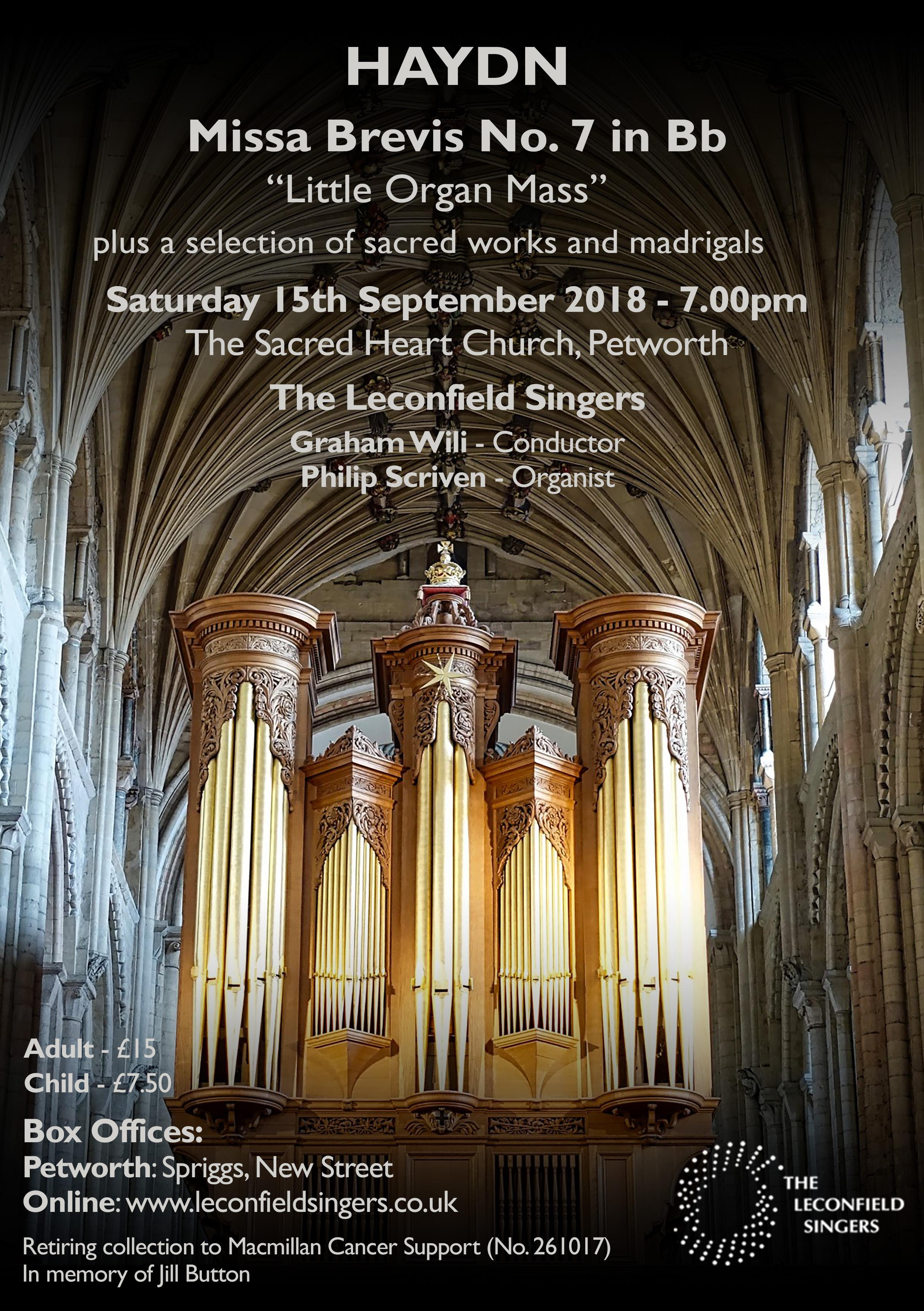 Leconfield Singers - Concert